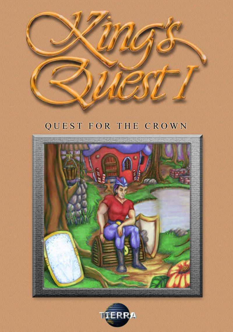 King's Quest: Quest for the Crown Windows Front Cover