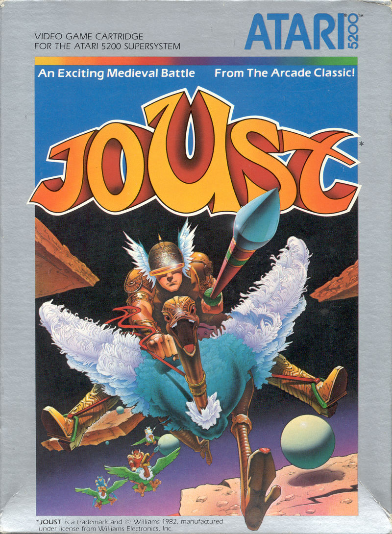 Joust For Atari 5200 1983 MobyGames