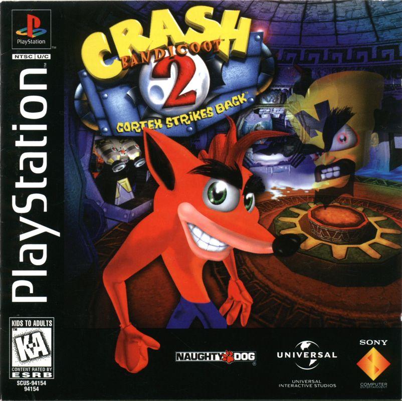 Image result for crash bandicoot 2 box art