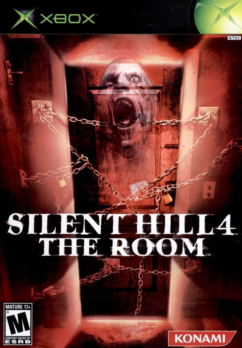 Image result for silent hill 4 the room xbox box art