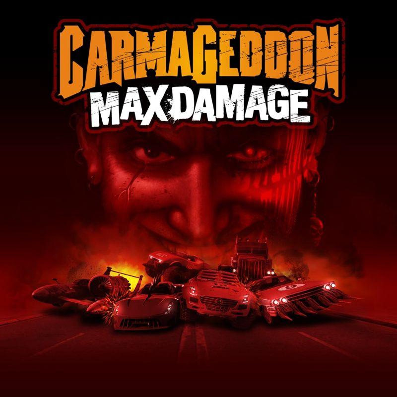 Carmageddon Max Damage 2016 PlayStation 4 Box Cover Art