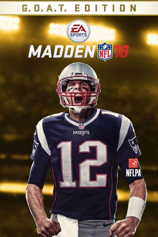 Madden NFL 18 GOAT Edition 2017 PlayStation 4 Box