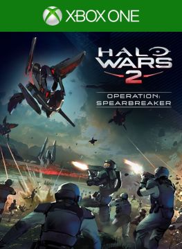 Halo Wars 2  Operation   Spearbreaker  2017  Windows Apps box cover     Halo Wars 2  Operation   Spearbreaker Xbox One Front Cover 1st version