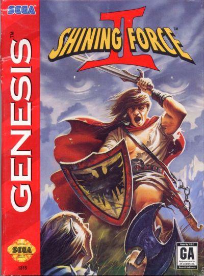 Shining Force II (1993) Genesis box cover art - MobyGames