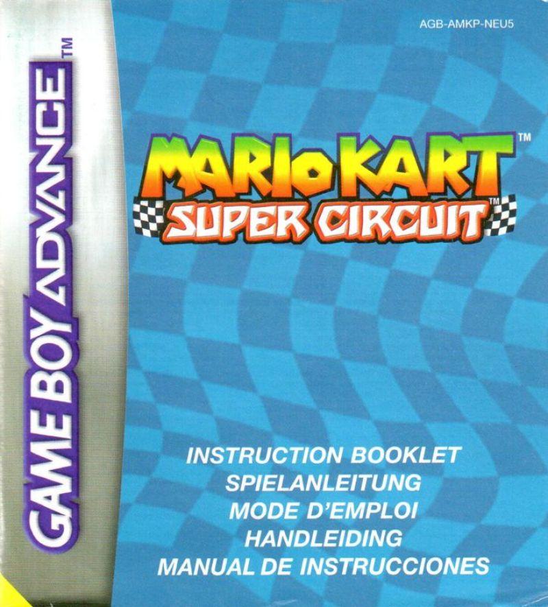 mario kart game boy advance emulator