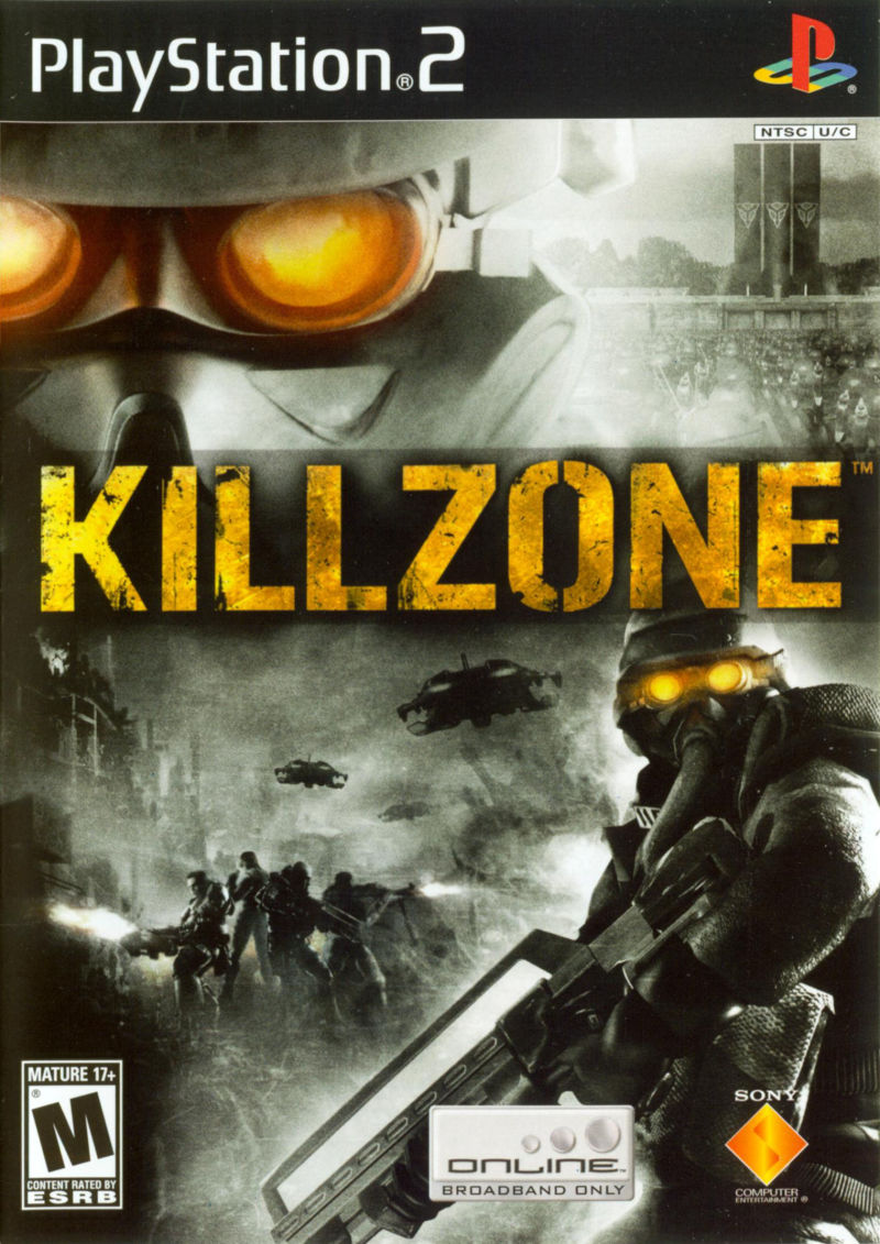 Killzone 2004 PlayStation 2 Box Cover Art MobyGames