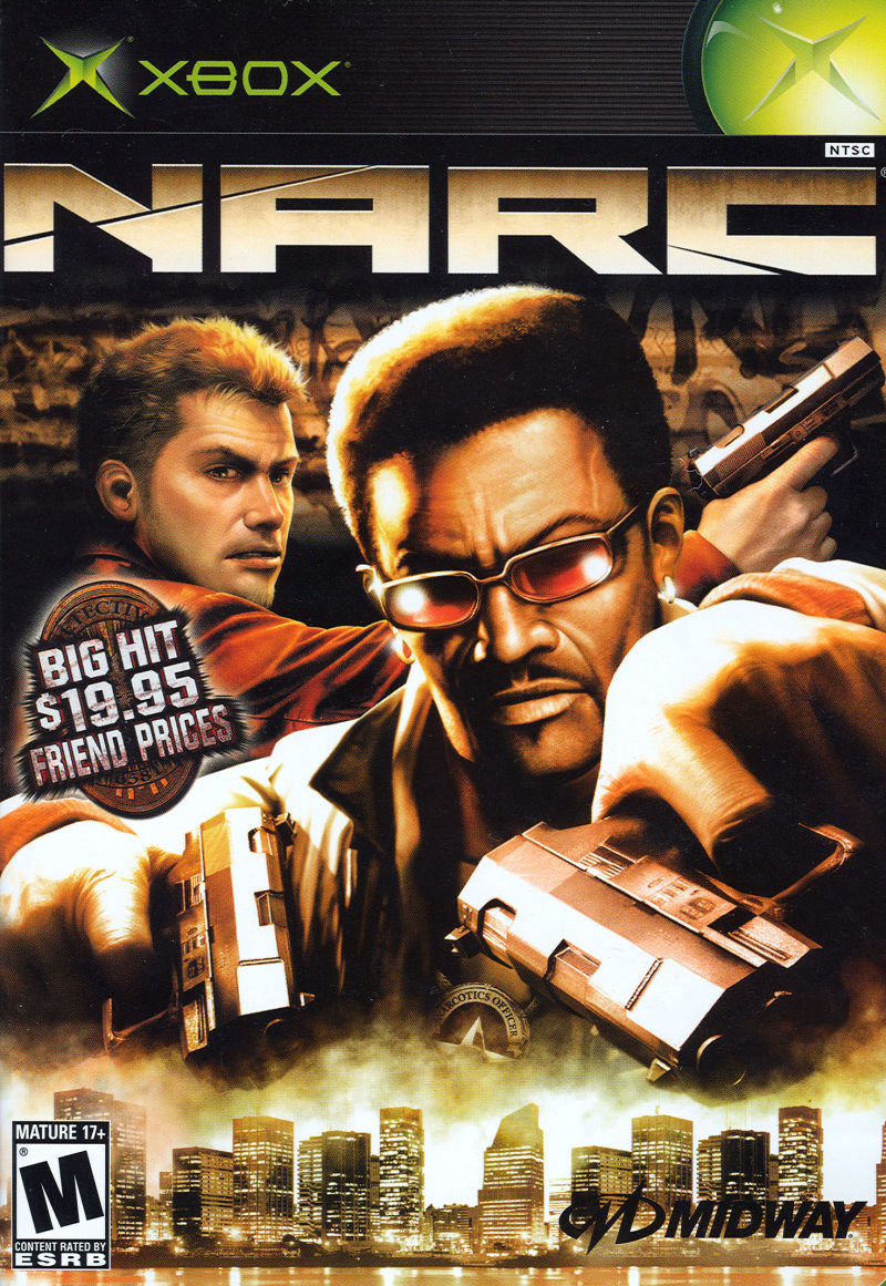 NARC For PlayStation 2 2005 MobyGames
