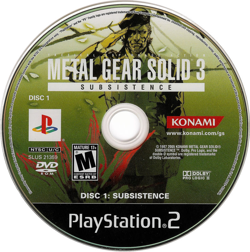 Image result for metal gear solid subsistence
