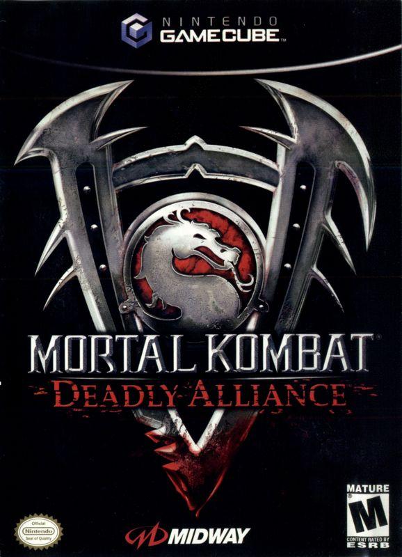 Image result for mortal kombat deadly alliance gamecube cover art