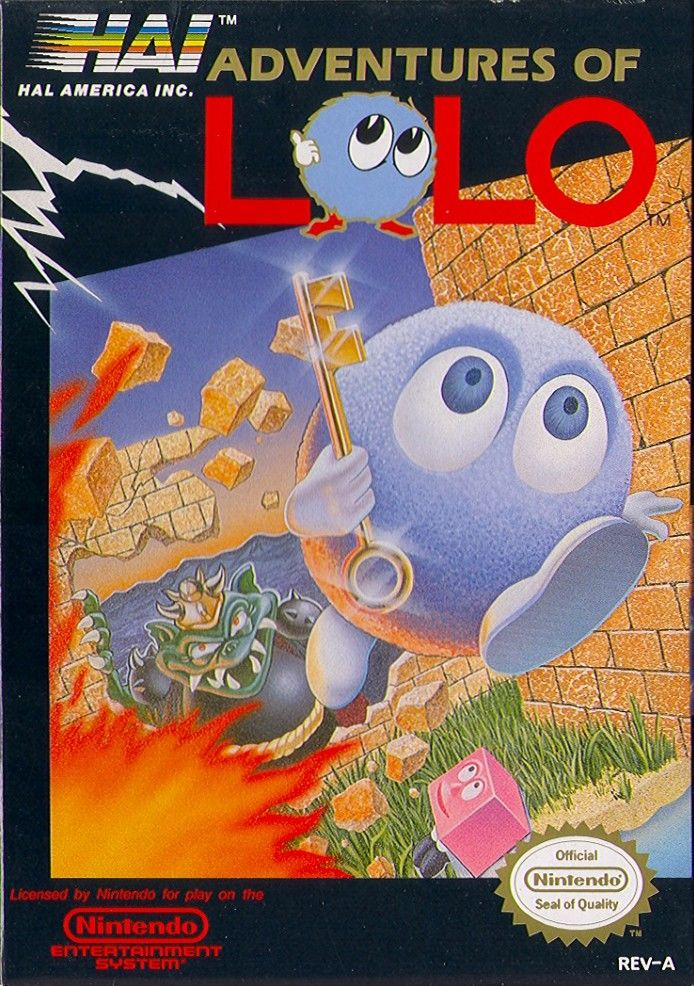 Adventures Of Lolo For NES 1989 MobyGames