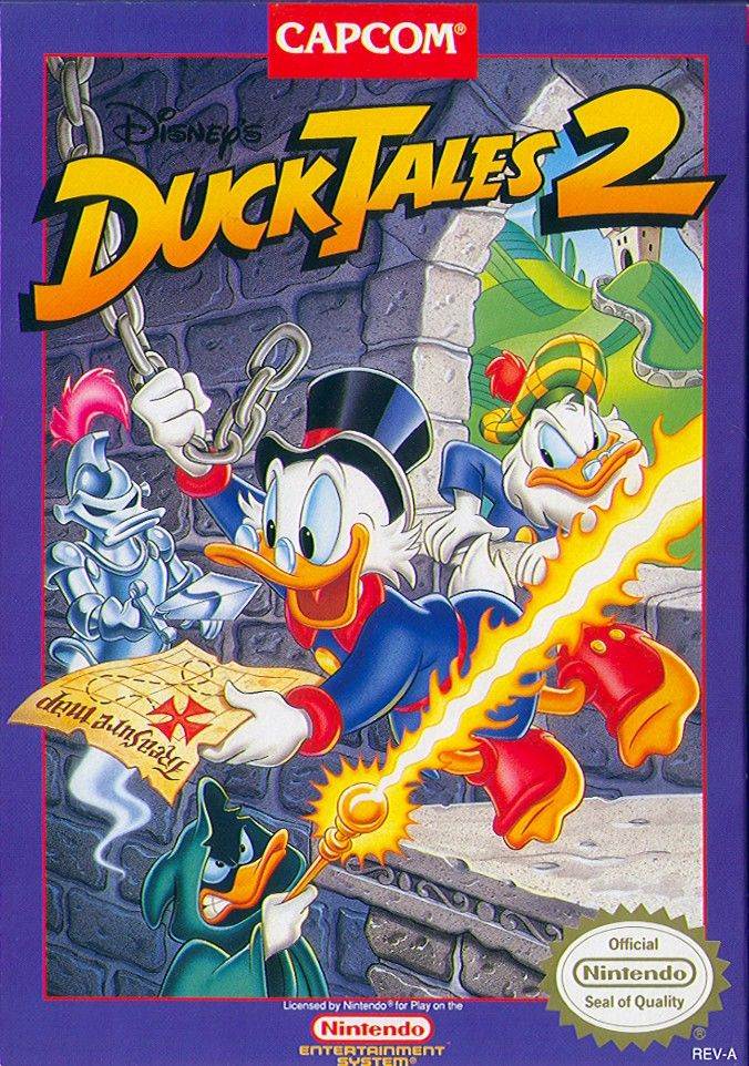 Disneys DuckTales 2 1993 NES Box Cover Art MobyGames