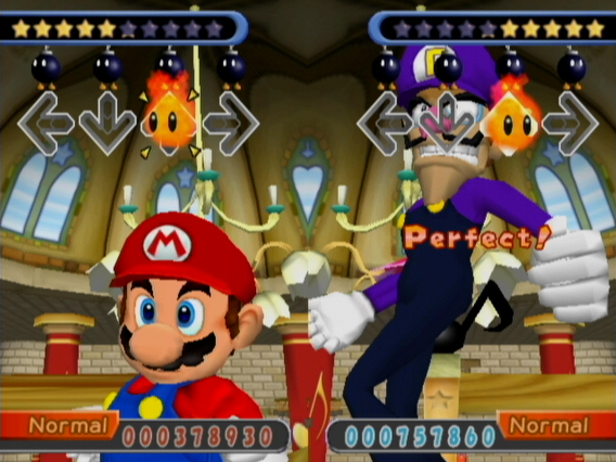 Image result for dance dance revolution mario mix