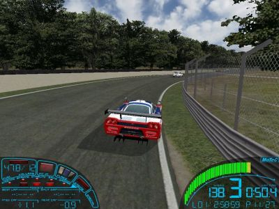 GTR: FIA GT Racing Game Windows An arcade-style driving view