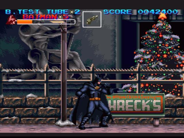 Resultado de imagem para Batman Returns snes christmas