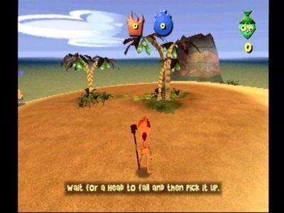 Ooga Booga Dreamcast Tutorial level