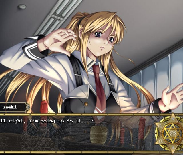Bible Black The Game Windows Saeki Is The Resident Black Magic Enthusiast At School