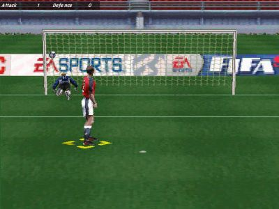 FIFA 99 Windows A penalty