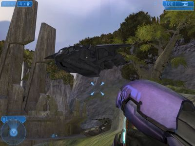 Halo 2 Windows Your friends delivered you a tank.