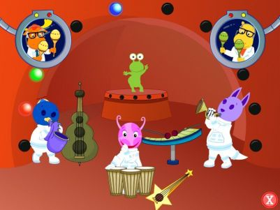 The Backyardigans: Mission to Mars Windows A musical celebration in full swing