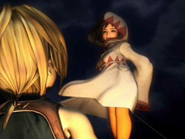 Final Fantasy IX PlayStation Princess and Zidane