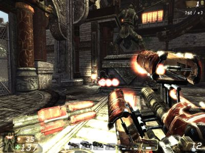 Unreal Tournament III Windows I think the chances are slim that any rocket will hit my target.