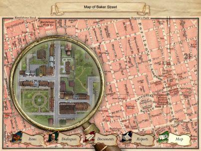 Sherlock Holmes: Nemesis Windows Map