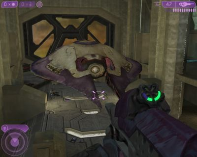 Halo 2 Windows Enemy hangar