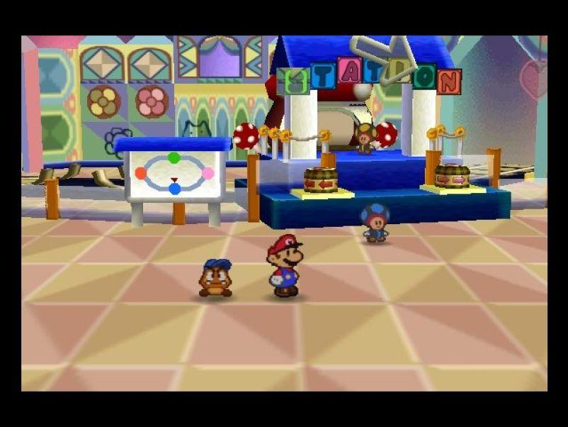 Paper Mario Screenshots for Nintendo 64 - MobyGames