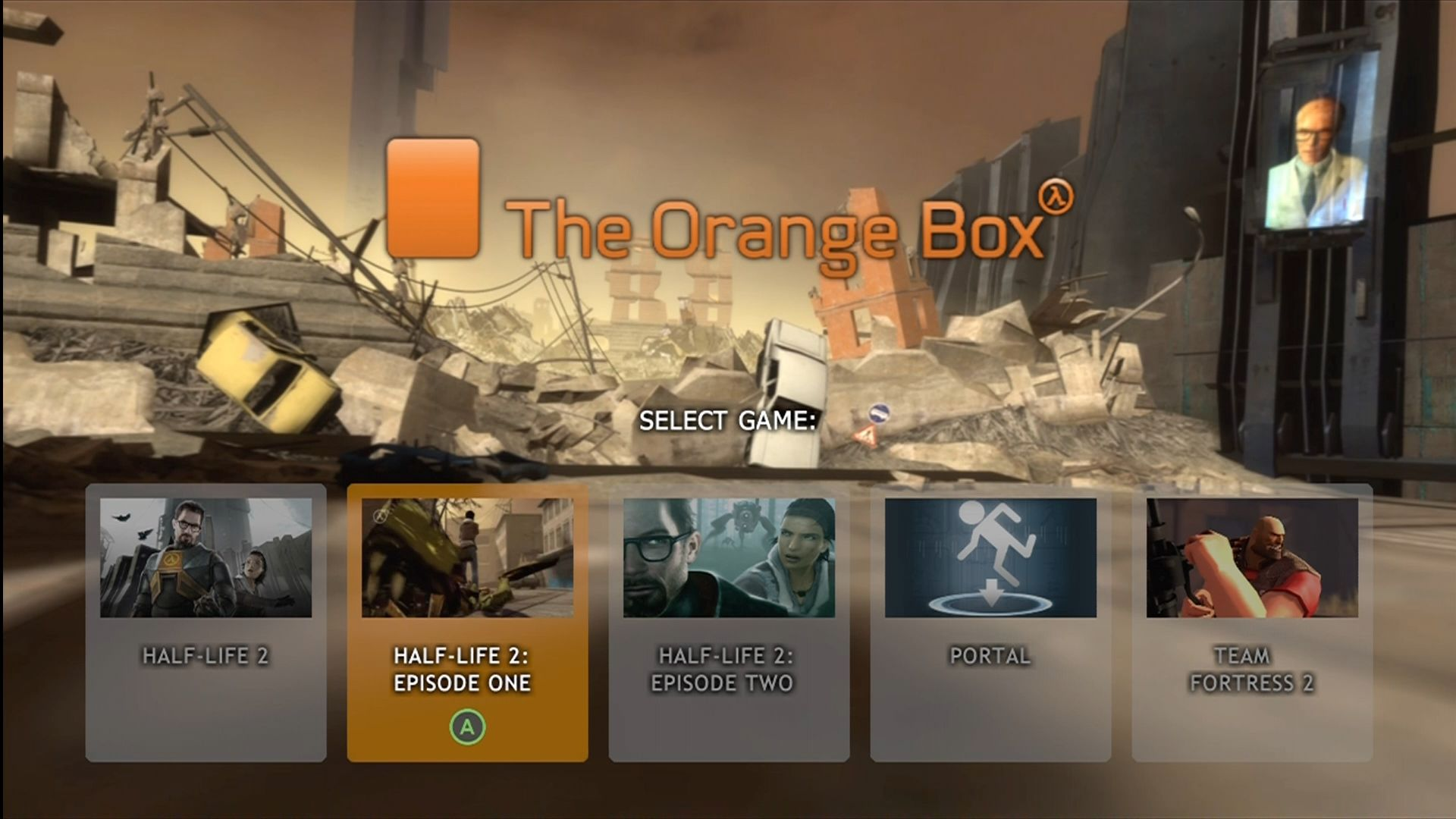 The Orange Box Screenshots For Xbox 360 MobyGames