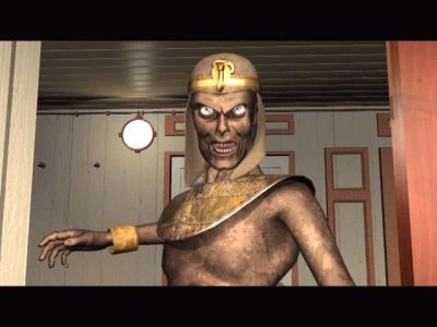 The Cameron Files: Pharaoh's Curse Windows Eeek! The Pharoah has risen!