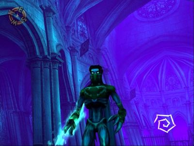 Legacy of Kain: Soul Reaver 2 Windows ...and this is spectral realm!... Wow, someone hold those walls!