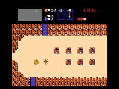 Zelda Classic Windows Stone knights
