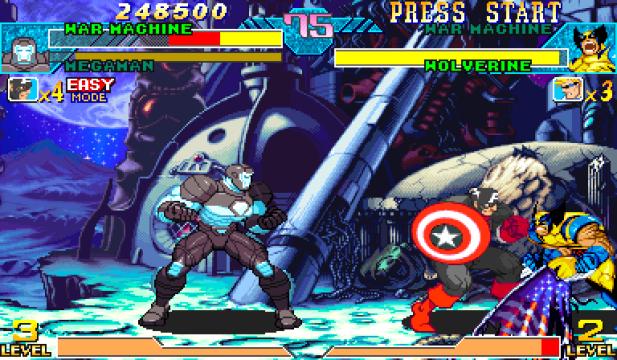 Marvel Vs Capcom Clash of the Super Heroes