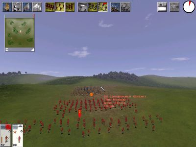 Medieval: Total War Windows Small battle
