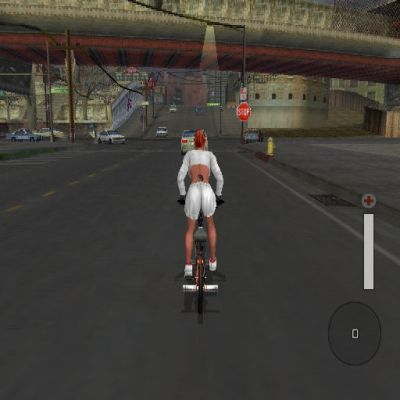 BMX XXX PlayStation 2 Riding around looking for a challenge to complete