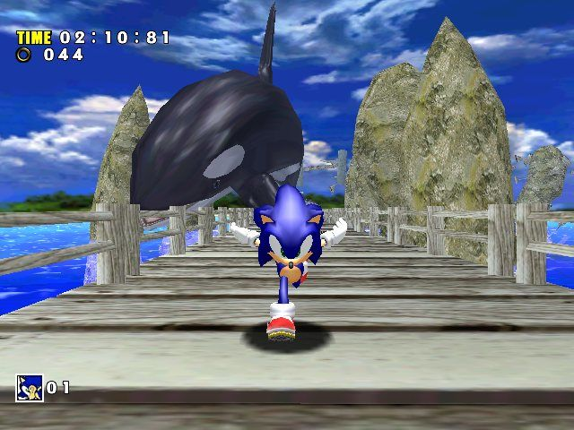 Image result for sonic adventure screenshot