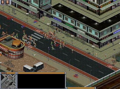 Hooligans Windows Other hooligans groups destroying shops
