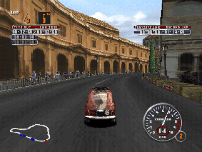 Mille Miglia PlayStation Fiat 500 - Rome