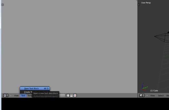 Running python scripts in Blender – Moby Motion