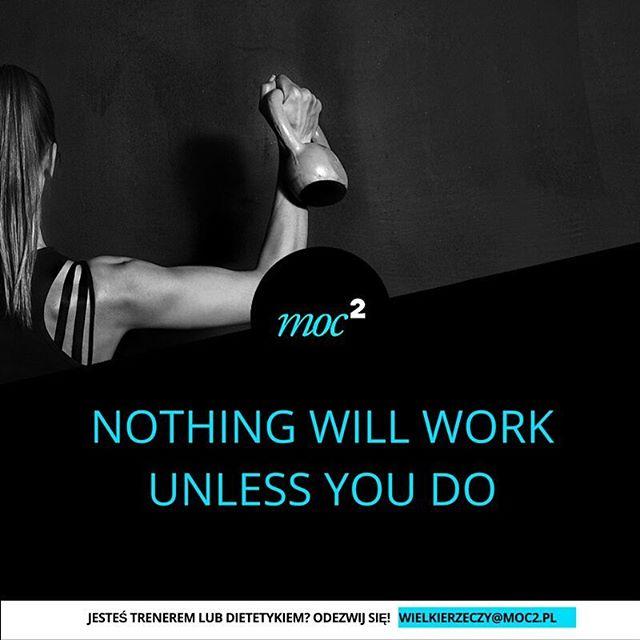 Nic się samo nie zrobi #motywacja #cytaty