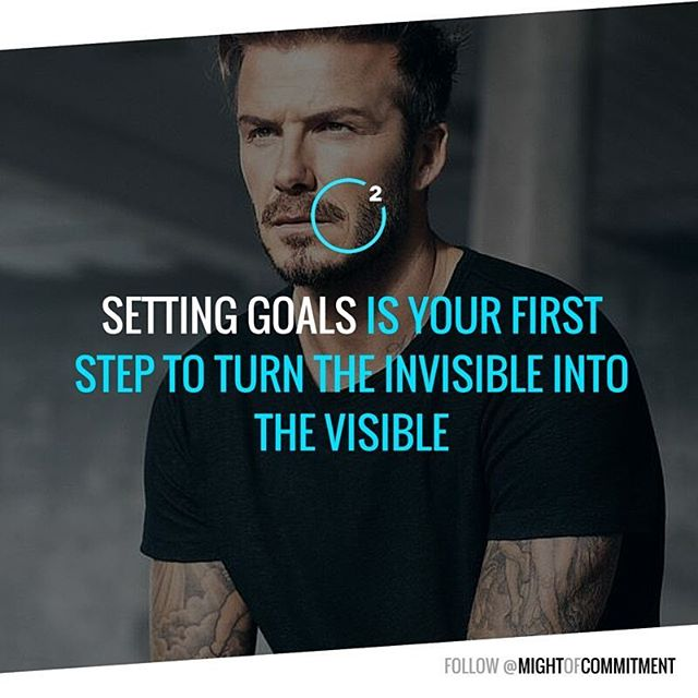 What's Your goal for next week? Follow @mightofcommitment for #motivation #inspiration #quotes