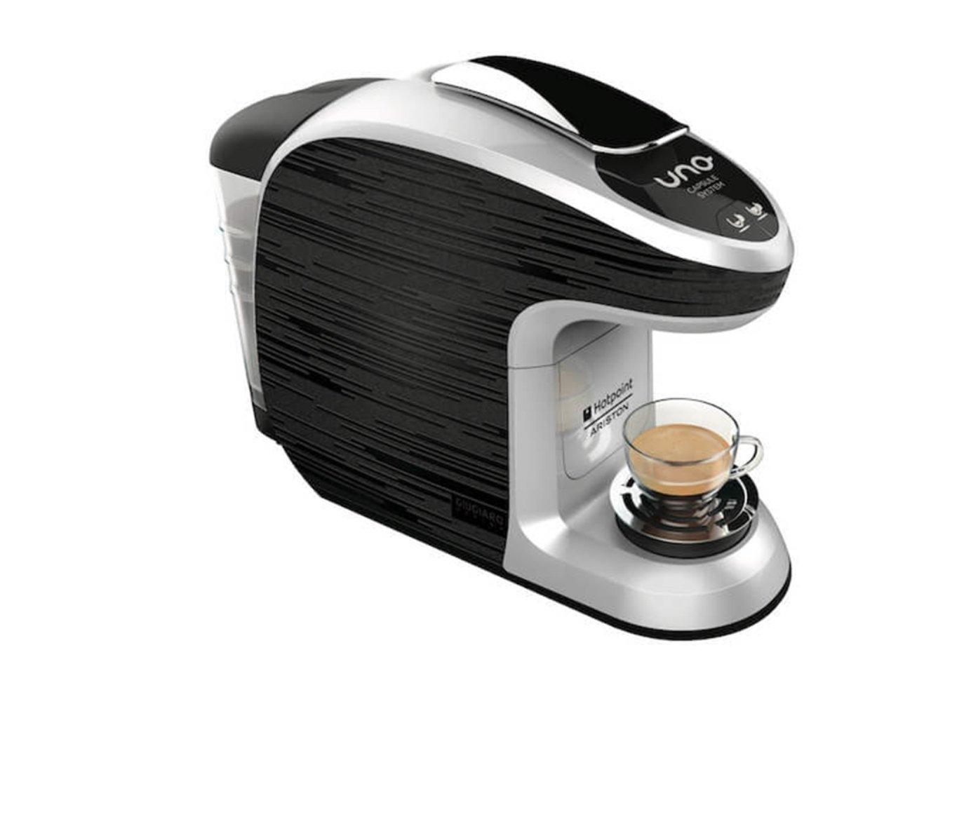 Macchina caffe' uno system Hotpoint Ariston piu' 100 capsule omaggio caffesicily