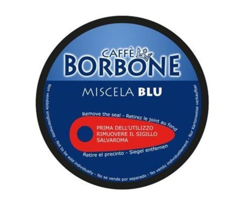 90  Capsule caffe Borbone Miscela Blu Compatibili Nescafe Dolce Gusto + KIT ACCESSORI BORBONE OMAGGIO