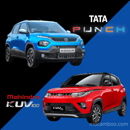 TATA PUNCH main Rival | Mahindra KUV100