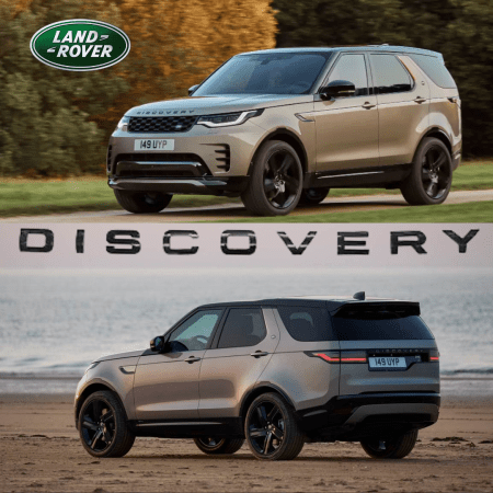 New DISCOVERY | Land Rover | Front & Back look