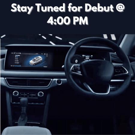 Mahindra XUV700 Grand Debut at 4:00PM 14th August 2021. XUV700 Interior