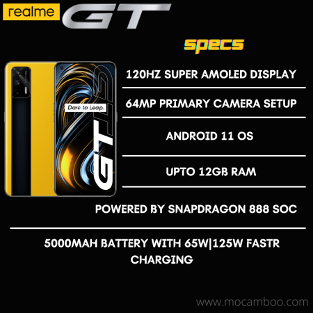 Realme GT Specifications