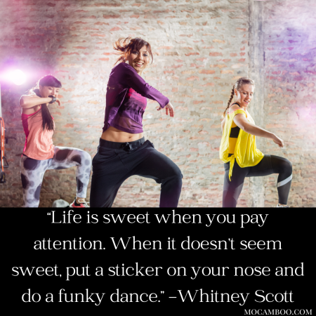 """""""Life is sweet when you pay attention. When it doesn't seem sweet, put a sticker on your nose an ..."""