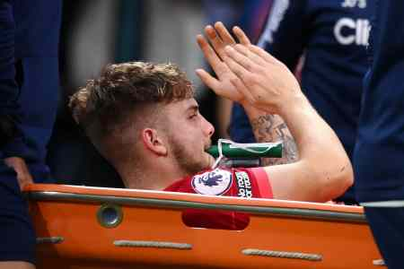 Liverpool's Harvey Elliot continues recovery as video surfaces of progress