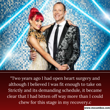 """""""Two years ago I had open heart surgery and although I believed I was fit enough to take o ..."""